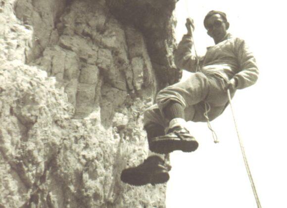 1966  Uomo,  Dolomiti