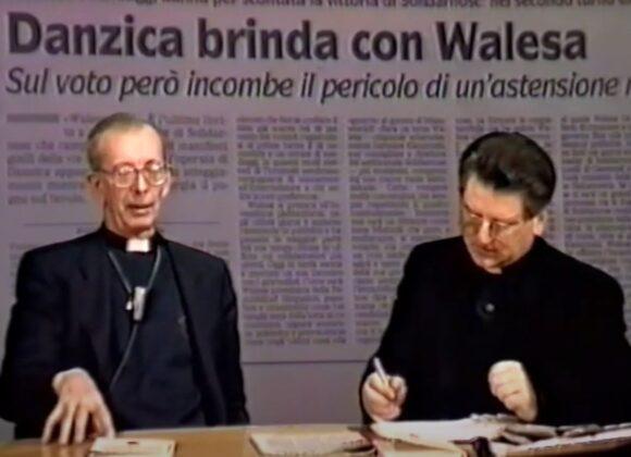 """Don Francesco Ricci ospite della trasmissione """"A cuore aperto"""""""