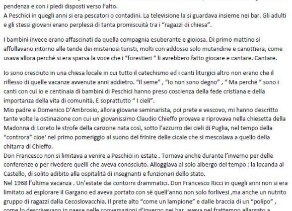 Il racconto di Mario Mauro